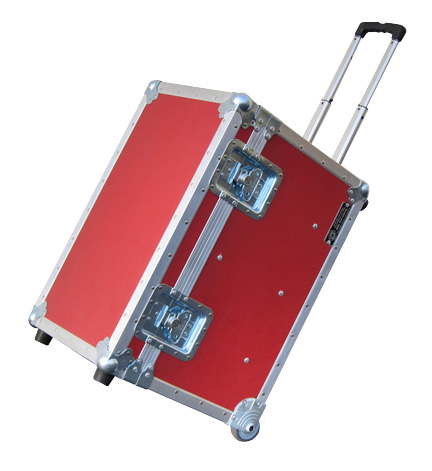 self-contained transport case