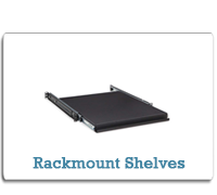 Kendall Howard Rackmount Shelves from Cases2Go