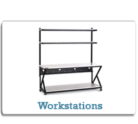 Kendall Howard Workstations from Cases2Go