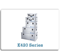 ZARGES Aluminum Cases K420 Series from Cases2Go