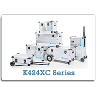 ZARGES Aluminum Cases K424XC Series from Cases2Go