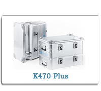 ZARGES Aluminum Cases K470 Plus Series from Cases2Go