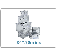 ZARGES Aluminum Cases K475 Series from Cases2Go