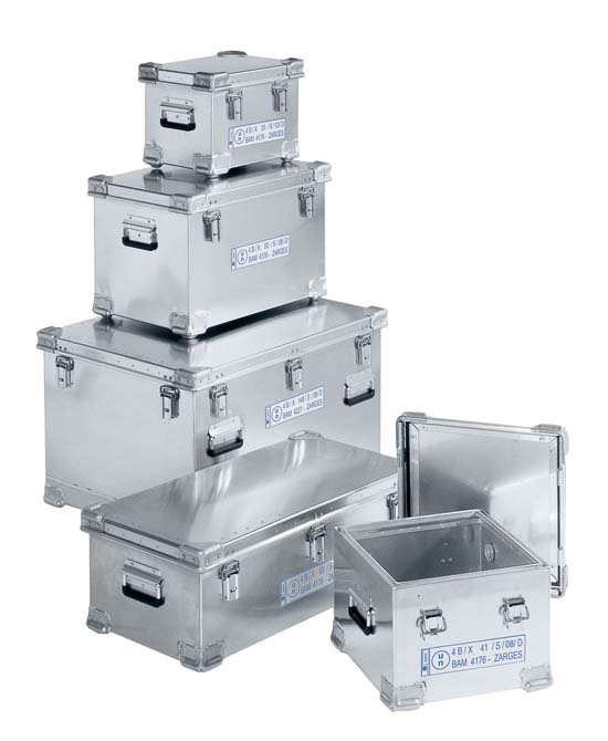 ZARGES Cases | K475 Series Aluminum Shipping Cases