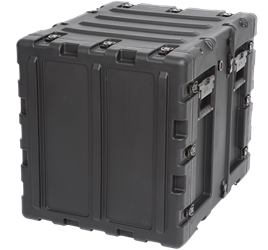 "3RS-11U20-22B | SKB 11U 20"" Static Shock Rack kb cases, shipping cases, rackmount cases, 11u shock rack, rack mount case, rack cases, static rack, shockmount rack, shockproof case, 3rs-11u20-22b"
