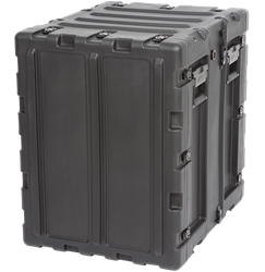 "3RS-14U20-22B | SKB 14U 20"" Static Shock Rack skb, cases, static shock, rack, molded plastic, cases2go"