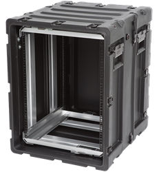 "3RR-14U20-22B | SKB 14U Removable 20"" Shock Rack skb cases, shipping cases, rackmount cases, 14u shock rack, rack mount case, rack cases, static rack, shockmount rack, shockproof case, 3rs-14u20-22b"