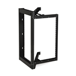 18U Phantom Class® Open Frame Swing-Out Rack server racks, server rack accessories, kendall howard, open frame server rack, open frame rack, swing-out server rack, open frame swing out, 18U Open Frame Swing-Out Rack, 1915-3-800-18
