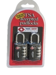 SKB TSA Combination Padlocks (Set Of 2)