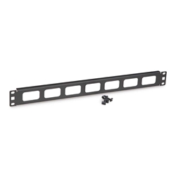 1U Cable Routing Blank server racks, server rack accessories, kendall howard, routing blank, cord routing blank, cable routing blank, 1U Cable Routing Blank, 1902-1-001-01A