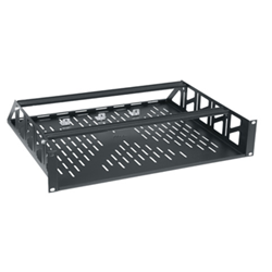 Middle Atlantic 2U Clamping Steel Rack Shelf from Cases2Go