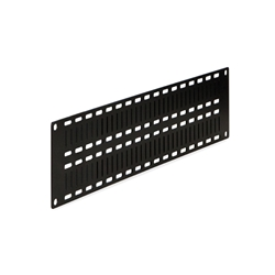 2U Flat Cable Lacing Panel - 10 pack server racks, server rack accessories, kendall howard, server rack lacing panel, cable lacing panel, server lacing panel, 2U Flat Cable Lacing Panel, 1903-1-012-02