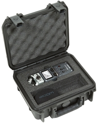 3i-0907-4-H5 | SKB iSeries Zoom H5 Recorder Case skb, cases, waterproof, zoom h5, recorder, ata, injection molded plastic, cases2go
