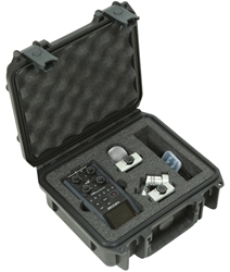 3i-0907-4-H6 | SKB iSeries Case for Zoom H6 Recorder skb, cases, recorder, zoom h6, ata, molded plastic, cases2go