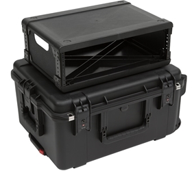 SKB 3U Fly Rack Case from Cases2Go - Closed, Stacked