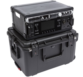 SKB 4U Fly Rack Case from Cases2Go - Closed, Stacked
