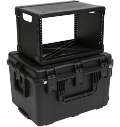 SKB 6U Fly Rack Case from Cases2Go - Closed Stacked