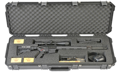 3i-4214-AR SKB iSeries Waterproof Rifle Case - Front from Cases2Go