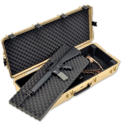 3i-4217-DB-T  | SKB Double Rifle Case skb, cases, double rifle, weapons case, ata, injection molded plastic, cases2go, iseries