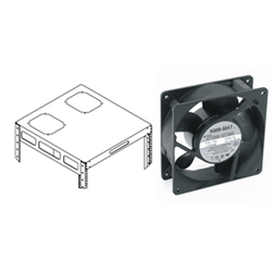 "Middle Atlantic 4.5"" Fan from Cases2Go"