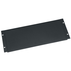Middle Atlantic 4U Vent Panel Tight Perforated - Black Powder Coat from Cases2Go