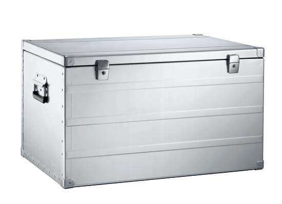 "K405 Aluminum Transport Case - 26.38 x 18.11 x 15.75"" ID"
