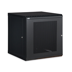 12U LINIER® Fixed Wall Mount Cabinet - Vented Door server racks, server rack accessories, kendall howard, vented server cabinet, wall mount server cabinet, wall mount cabinet, server cabinet, LINIER Series Fixed Wall Mount Cabinet - 12U (Vented Door), 3142-3-001-12