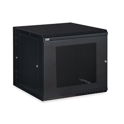 12U LINIER® Swing-Out Wall Mount Cabinet - Vented Door server racks, server rack accessories, kendall howard, vented server cabinet, wall mount server cabinet, wall mount cabinet, server cabinet, LINIER Series Swing Out Wall Mount Cabinet - 12U (Vented Door), 3132-3-001-12