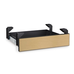 LAN Station Utility Drawer - Hard Rock Maple server racks, server rack accessories, kendall howard, server utility drawer, rack drawer, server rack drawer, LAN station Utility Drawer, 5200-3-202-00