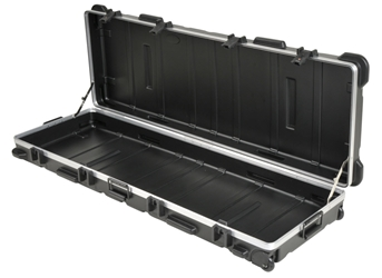 3SKB-6019W| SKB Low Profile ATA Shipping Case skb cases, shipping cases, rackmount cases, plastic cases, military cases, music cases, injection molded plastic cases, shock isolated racks, rack case, shockmount racks, ATA 300,