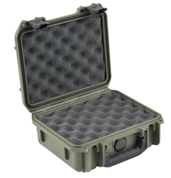 3i-0907-4M-L Waterproof Pistol Case by SKB from Cases2Go, Open Right