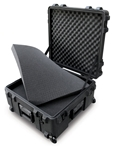 3R2222-12B-CW | SKB Rotomolded Shipping Case - Wheeled skb cases, shipping cases, rotomolded cases, waterproof cases, utility cases, r series, 3r series, 3R2222-12B-CW