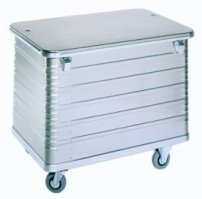 ZARGES Lid for 40631 Aluminum Trolley zarges, cases, lid, trolley, aluminum, shipping case, ata, cases2go