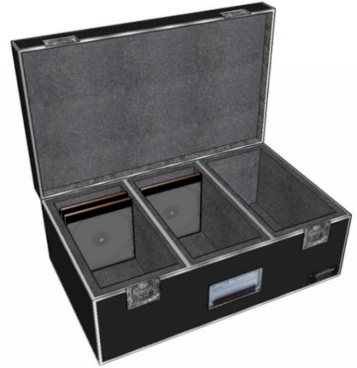"ANVIL DJ Case for CDS - 3 Rows / 12"" Deep"