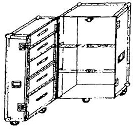 ANVIL ATA Wardrobe Case - Style # 104