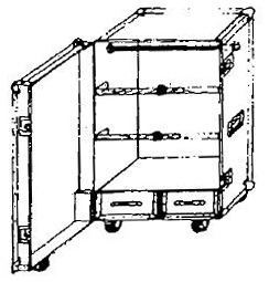 ANVIL ATA Wardrobe Case - Style # 105