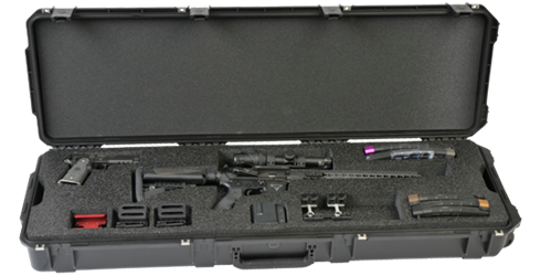 SKB-3i-5014-3G 3 gun competition case from Cases2Go - open